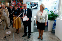 Stand of Belarusian NPP opened in IAEA