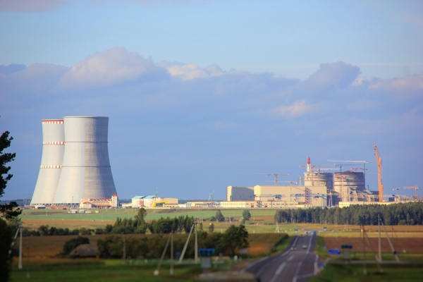 The assembly of the turbine unit started in the engine room of the second power unit of Belarusian NPP