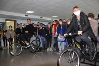 Polotsk gymnasium students visited the NPP Information Center