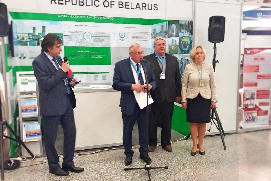 Экспозиция Белорусской АЭС открыта в штаб-квартире МАГАТЭ